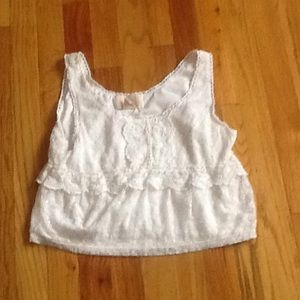 H&M Tops - Lace Ivory Top